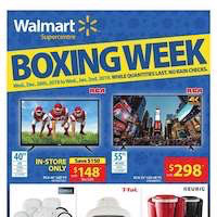 Walmart Flyer (ON) Boxing Week December 26 - January 2 2019