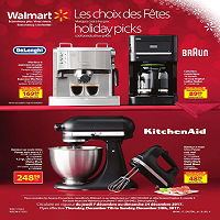 Walmart Flyer Holiday Picks December 7 - 24 2017