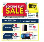 Best Buy Flyer Boxing Day Sale Dec 25 - 29 2016