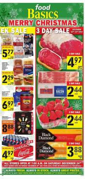 Food Basics Flyer December 22 - 28 2016