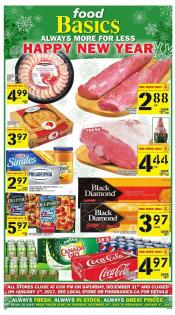 Food Basics Flyer December 29 - January 3 2017