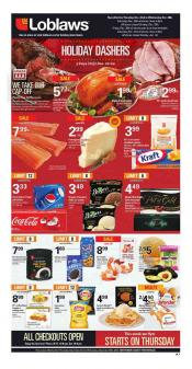 Loblaws Flyer December 22 - 28 2016