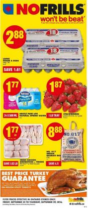 No Frills Flyer September 23 - 29 2016