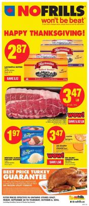 No Frills Flyer September 30 - October 6 2016