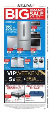 Sears Memorial Day Deals. Save up to 40% off appliances, up to 60% off Mattresses and score season's best savings on everything from lawnmowers to grills to clothing/5().