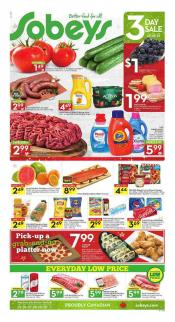 Sobeys Flyer November 25 - December 1 2016
