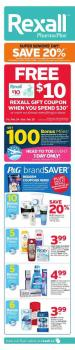 Rexall Flyer February 24 - March 2 2017