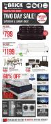 The Brick Flyer Two Day Sale October 12 - 26 2017