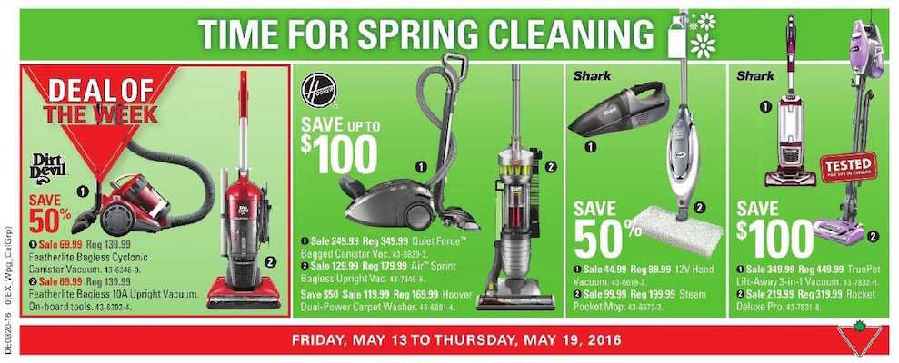 Canadian Tire Flyer 18 May 2016