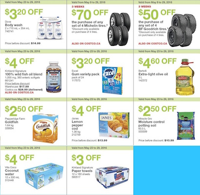 CostCo Flyer 29 May 2016