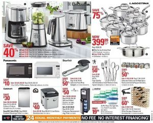Canadian Tire Flyer 9 May Kitchen Appliances