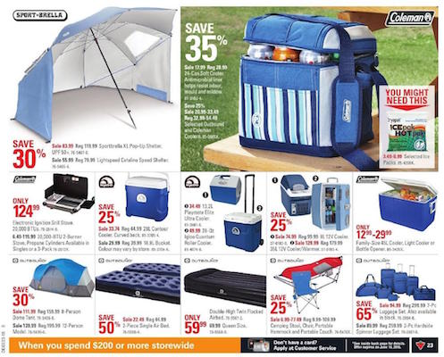 Canadian Tire Flyer July 26 August 1 2019
