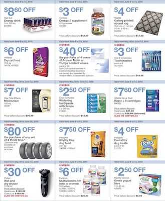 CostCo Flyer 9 Jun 2016