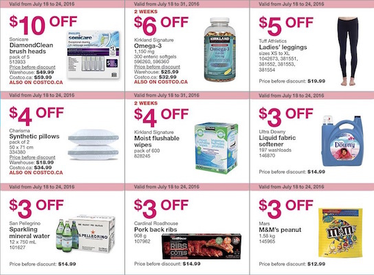 Costco Flyer 26 July 2016