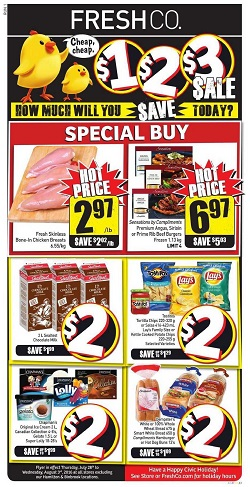 Freshco Flyer July 28 - August 3 2016 Hot Price And Special Buy