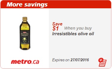 Metro Olive Oil Coupon Save $1