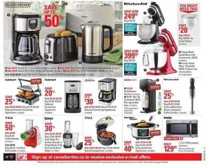 Canadian Tire Flyer July 11 2016 Appliances For Kitchen