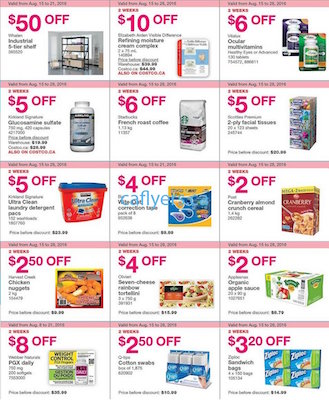 Costco Flyer 19 Aug 2016