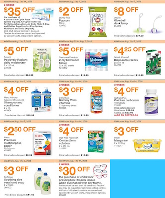 Costco Flyer 5 Aug 2016