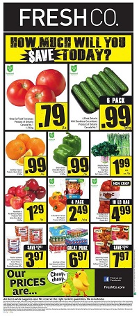 Freshco Flyer August 11 - 17 2016 Hot Prices