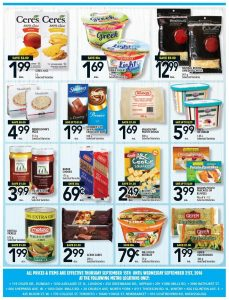 Metro Flyer September 19 2016 With Printable Coupon