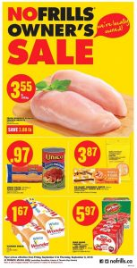 No Frills Flyer September 2 - 8 2016 With Printable Coupons