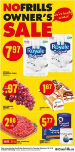 No Frills Flyer September 9 2016 With Printable Coupon
