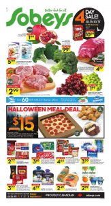 Sobeys Flyer October 31 2016