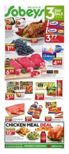 Sobeys Flyer November 18 2016 Food Options