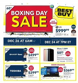 Best Buy Boxing Day Sale