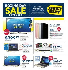 Best Buy Flyer December 31 2016