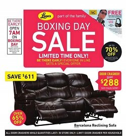 Leon's Boxing Day Flyer Dec 25 - Jan 4 2017