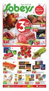 Sobeys Flyer December 22 2016