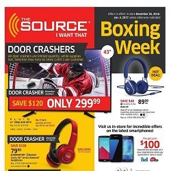 The Source Boxing Day Flyer Dec 25 - Jan 4 2017