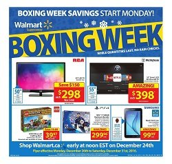 Walmart Flyer Boxing Week December 26 - 31 2016