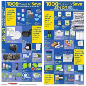 Superstore Flyer January 11 2017 - 1000 Ways to Save