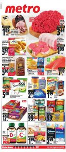 Metro Flyer January 8 2017 With Coupons