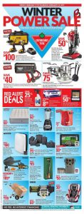 Canadian Tire Flyer February 16 2017 Winter Power Sale