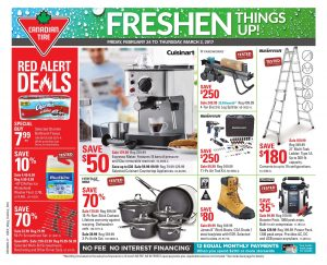 Canadian Tire Flyer February 25 2017