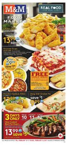 M&M Food Market Flyer February 9 2017