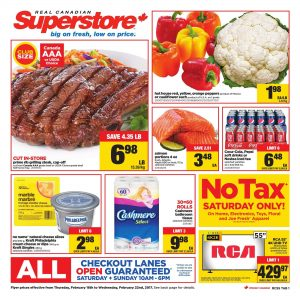 Real Canadian Superstore Flyer February 20 2017