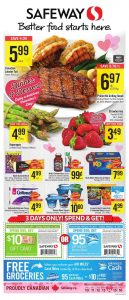 Safeway Flyer February 12 2017