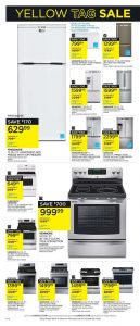 Sears Flyer February 3 2017 Yellow Tag Sale