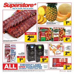 Real Canadian Superstore Flyer March 13 2017
