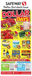 Safeway Flyer March 29 2017
