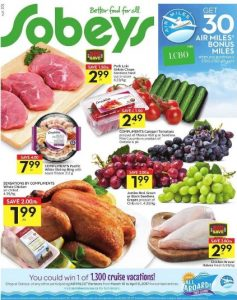 Sobeys Flyer March 20 2017