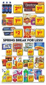 Giant Tiger Flyer March 9 2017 Snacks
