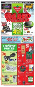 Canadian Tire Flyer April 22 2017