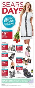 Sears Flyer April 16 2017