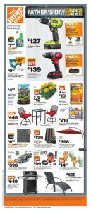 Home Depot Flyer June 14 2017 Father's Day